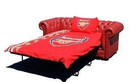 Chesterfield in pelle rossa Arsenal...