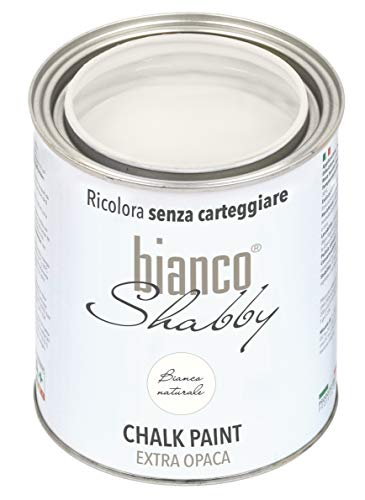 CHALK PAINT Bianco Naturale per Mobili e...