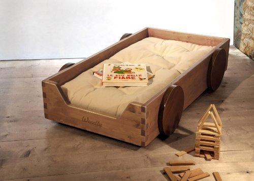 Woodly - Lettino Legno Montessori -...