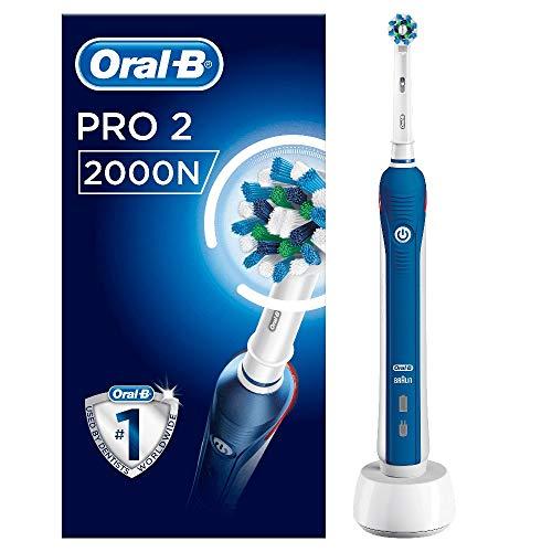 Oral-B Pro 2 2000 Spazzolino Elettrico...