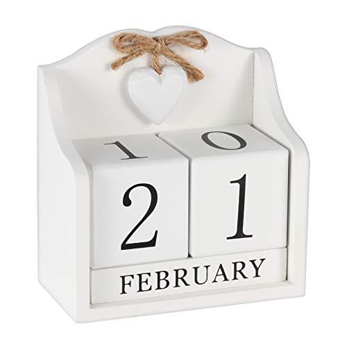 Obling Calendario Perpetuo di Legno...
