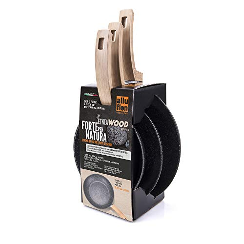 ALLUFLON Etnea Wood Edition Set da 3...