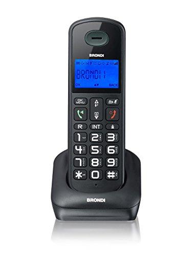 Brondi Bravo Style Telefono Cordless,...