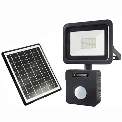 Frostfire - Faretti solari a 80 LED con...
