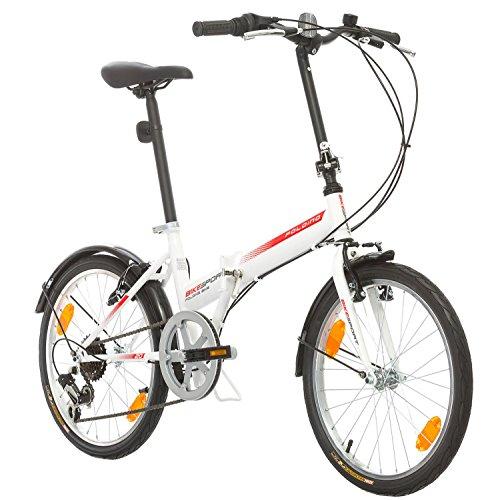 Bikesport FOLDING Bicicletta Pieghevole...