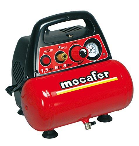 Compressore portatile mecafer 6 lt. 1,5...