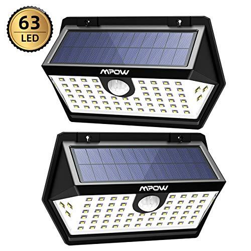Mpow [2 Pezzi] Luce Solare PIR Sensore...