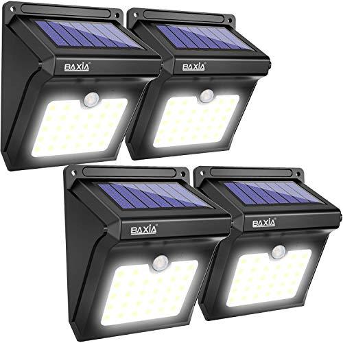 BAXiA Lampada Solare da Esterno, 28 LED...