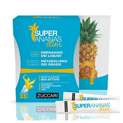 ZUCCARI Super Ananas Slim 25 Stick...