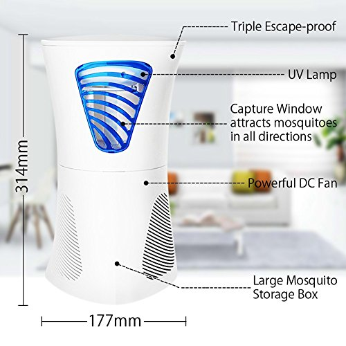 Zanzariera Elettrica Fochea 6 Watt