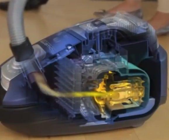 Rowenta RO5285EA funzionamento interno - Miglior Aspirapolvere a traino - Opinioni e recensioni dei consumatori - La Guida