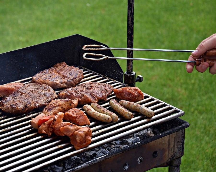 Barbecue il re del giardino a gas elettrico americano for La casa del barbecue