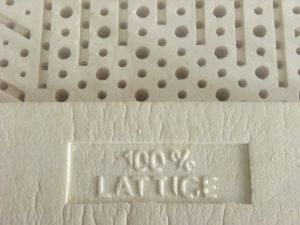 Materasso lattice 100%
