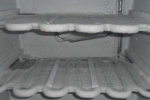 brina nel freezer