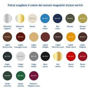 colori sensori kit siqura 4x