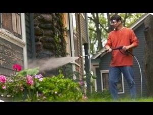 idropulitrice per pulizia superfici verticali