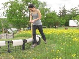 preparare il terreno manualmente
