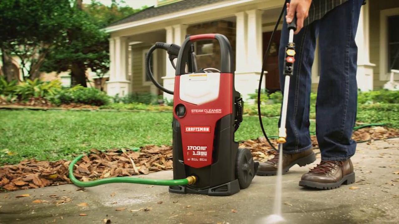 pulizia vialetto esterno con idropulitrice