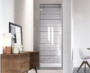 Porte a scomparsa in vetro il design della trasparenza casina mia - Oscurare vetro porta ...