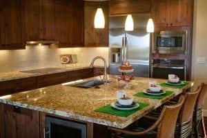 La cucina in pietra: il \