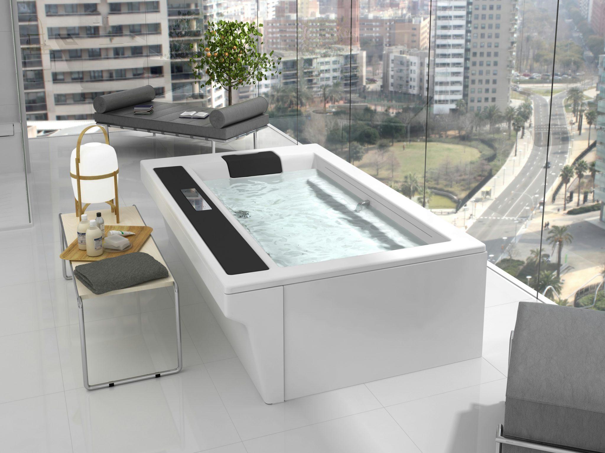 Vasca con seduta la comodit affascinante casina mia - Seduta vasca da bagno ...
