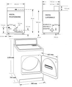VF10 VastFast disegni 248x300 - Asciugatrice - La Super Guida: La migliore, a gas, a pompa di calore, le classi energetiche - Le opinioni dei consumatori e molto atro ancora