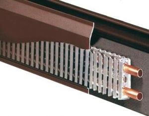 riscaldamento battiscopa 300x234 - Schema impianto riscaldamento: com'è fatto? Analizziamo insieme un tipico impianto domestico
