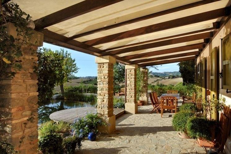 Tettoia in legno dalla progettazione alla realizzazione - Casina in legno giardino ...