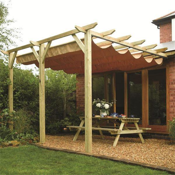 Preferenza Tettoia in legno: dalla progettazione alla realizzazione - Casina Mia GZ48