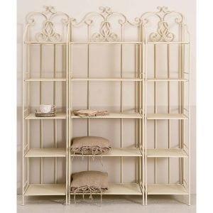 Libreria in ferro battuto eleganza e design senza tempo - Casina Mia