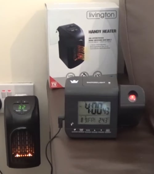 Le 5 migliori stufe elettriche a basso consumo casina mia for Handy heater consumi