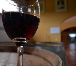 macchie di vino rosso
