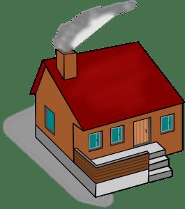 casa con camino acceso 265x300 - Come scegliere una caldaia a condensazione. I consigli dell'esperto