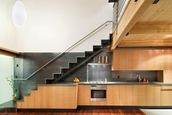 Cucina sottoscala - idee per arredare gli spazi più impensati ...