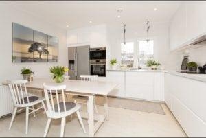 Cucina bianca e nera: una scelta razionale per un effetto emozionale ...