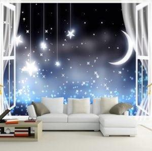 Camera Romantica a Cielo Aperto 300x298 - Cielo stellato: Idee per arredare in modo originale