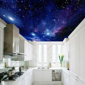 Cucina con Cielo Stellato 300x300 - Cielo stellato: Idee per arredare in modo originale