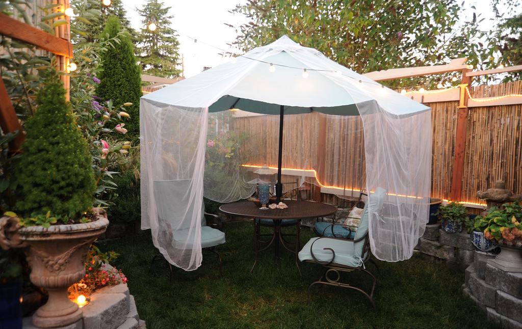 Ombrelloni da giardino a braccio decentrato da esterno i migliori modelli per riparti dal sole - Ombrelloni da giardino amazon ...