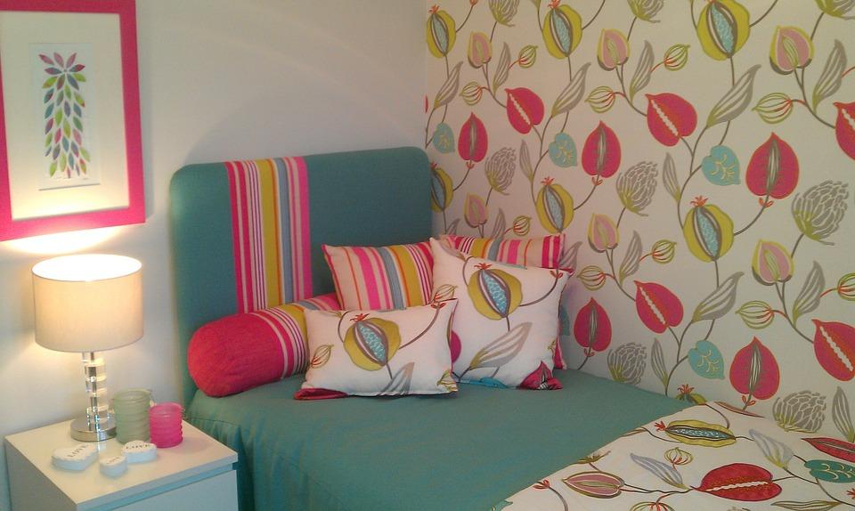 cameretta - Carta da parati moderna: quale design per la camera da letto