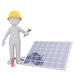 installazione globi solari