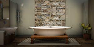Pareti in pietra per soggiorno: consigli pratici per un arredamento ...