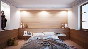 Camera da letto piccola: consigli sulla distribuzione del mobilio ...