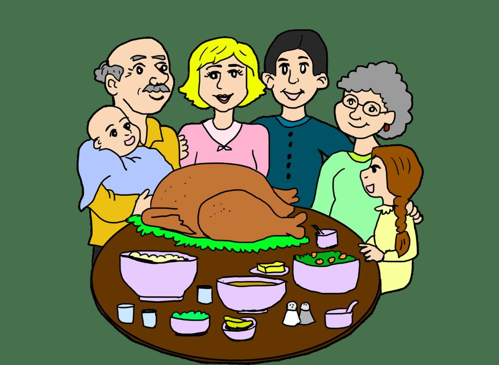 pranzo di famiglia 1024x749 - Autocertificazione stato di famiglia: come si fa e a cosa serve
