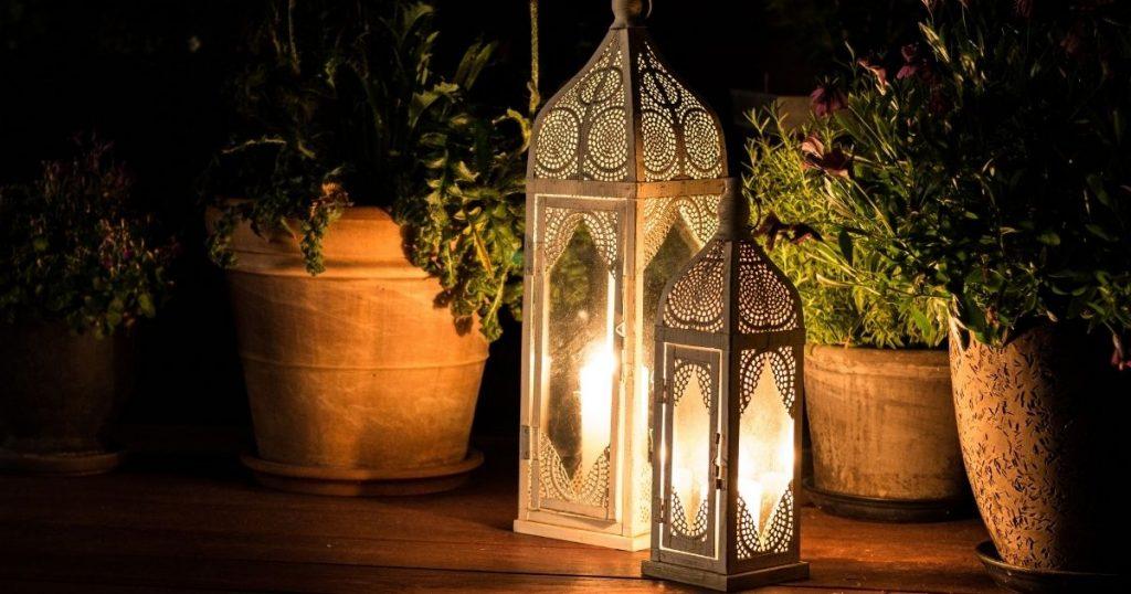 lanterne terrazzo