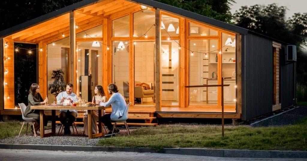 casa in legno bioedilizia
