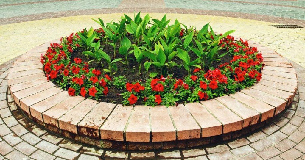 piedras para macizos de flores