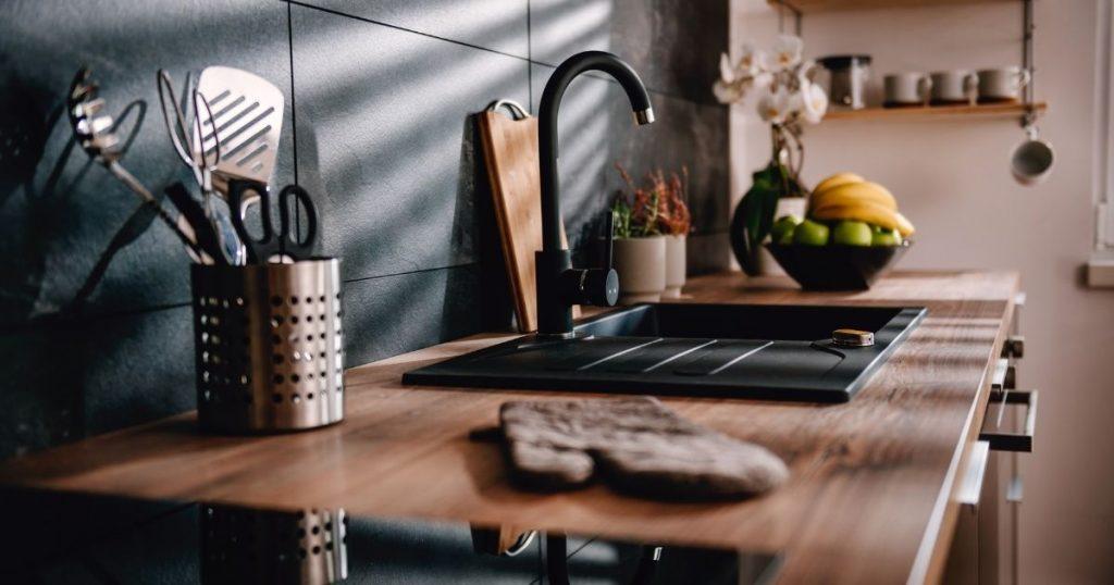 top cucina in legno