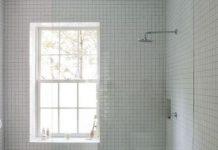 doccia con finestra