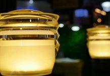 lampada a led da tavolo ricaricabile