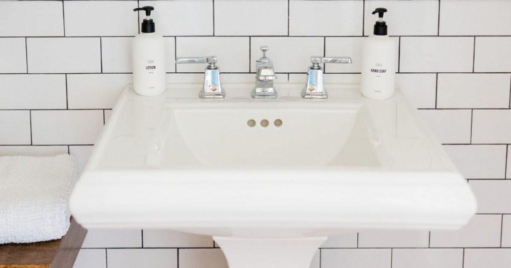 rubinetteria lavabo per bagno tipologia